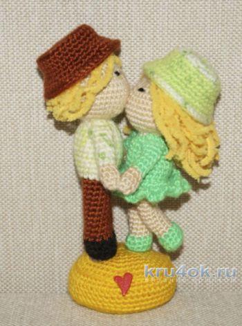 Влюбленная парочка кукол. МК от Юлии Конончук