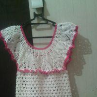 Платье для девочки Анна. Работа Яны Петровой