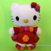 Мастер-класс по вязанию амигуруми Hello Kitty