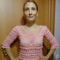 Женское платье Оливия. Работа Надежды Лавровой