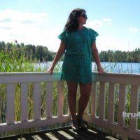 Платье — туника Бирюза. Работа Анны Бутиковой