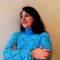 Вязаный блейзер Бирюзовая лоза. Работа Анны Бутиковой