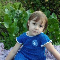 Авторская работа Ланы Кансковой детское платье Летний бриз