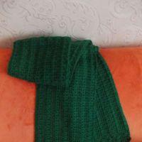Ажурный шарф крючком. Работа Снежанны
