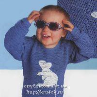 Джемпер с мышкой для мальчика
