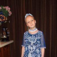 Платье для девочки Сапфировая сказка. Работа Марии Казановой