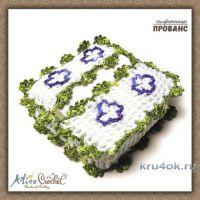Вязаные крючком салфетницы Прованс. Работы Alise Crochet