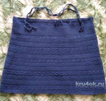 Женская юбка крючком. Работа Кристины Филиной