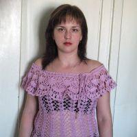 Ажурный топ от Марины Милокумовой