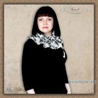 Вязаный воротник Маркиза. Работа Alise Crochet