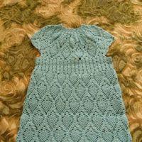 Платье для девочки Ананасы. Работа Кристины Филиной