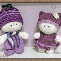 Милые вязаные пупсы Йо-Йо. Работа Alise Crochet