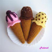 Вязаная игрушка — мороженое от Podarok