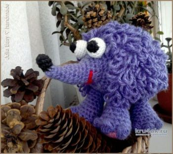 Hedgehog crochet, work Julia Easy