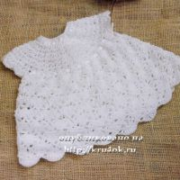 Платье для малышки Пушинка