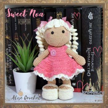 Куколка Sweet Noa, связанная крючком. Работа Alise Crochet