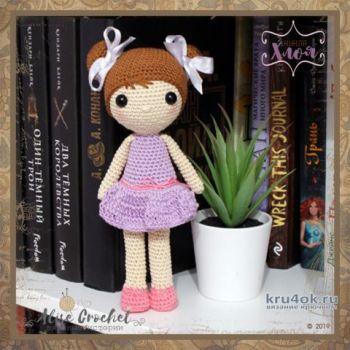 Кукла Хлоя крючком. Работа Alise Crochet