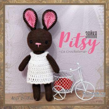 Зайка Pitsy - амигуруми крючком. Работа Alise Crochet