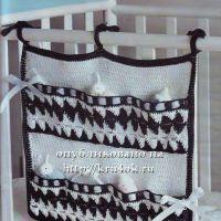 Чудо-кармашки для детской кроватки