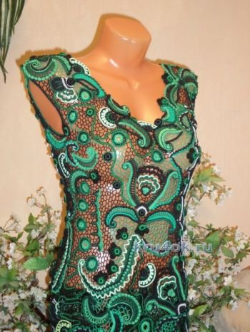 Платье Малахитовая шкатулка