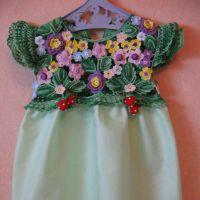 Летнее платье «Солнечная поляна»