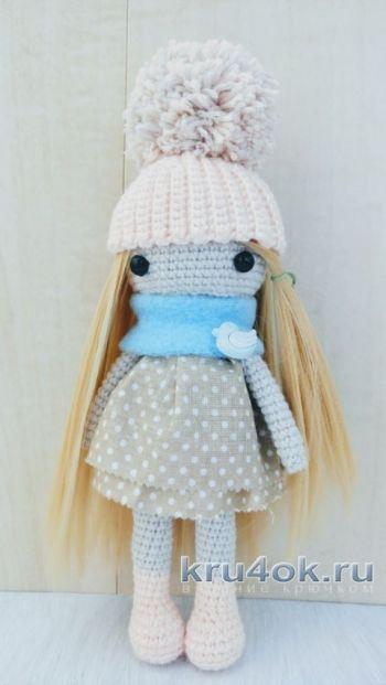 Кукла Марина крючком. Работа Александры Янковской