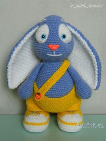 Весенний кролик. Работа Александры Лисициной
