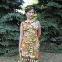 Платье по мотивам Лауры Бьяджотти. Вязание крючком.