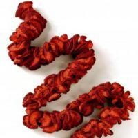 Эффектный шарф – боа