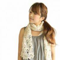 Схемы ажурных шарфов