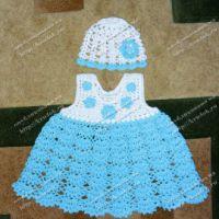 Платье и панамка для девочки