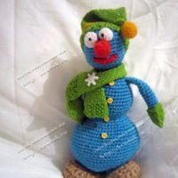 Вязание цветов крючком модель 12 - Вязание крючком.  Схемы, модели, узоры.