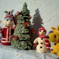 Новогодние игрушки Фёдоровой Аллы