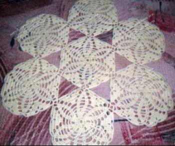 Вязаные салфетки от Галины Васильевны. Вязание крючком.