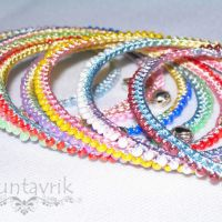 Мастер-класс «Радужные браслеты»