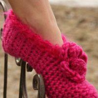 Красные тапочки — носочки