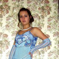 Голубое платье — работа Эльвиры Алеевой